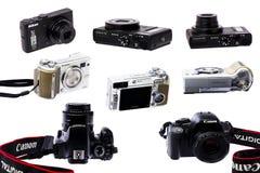 Kamery kolekcja zdjęcie royalty free