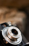 kamery lense Obraz Stock