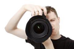 kamery mężczyzna potomstwa ilustracji