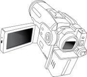 kamery minidv Obrazy Royalty Free