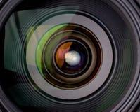 kamery obiektywu odbicie Fotografia Stock