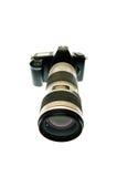 kamery obiektywu telephoto Zdjęcie Royalty Free