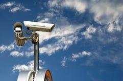 kamery ochrona Obrazy Royalty Free