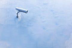 kamery ochrony ściana nadzoru pojęcia Obrazy Stock