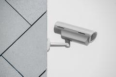 kamery ochrony ściana nadzoru pojęcia Zdjęcie Royalty Free