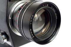 kamery odosobniony obiektywu biel Obrazy Stock