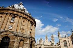 kamery Oxford radcliffe Zdjęcie Royalty Free