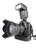 kamery profesjonalisty strona Zdjęcia Stock