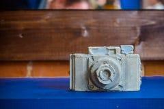 Kamery robić biały i szary gips obrazy stock