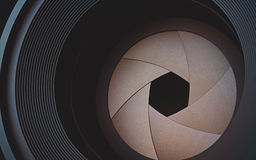 kamery skutka eps10 ilustracyjny obiektywu tęczy wektor Obrazy Stock