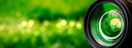 kamery skutka eps10 ilustracyjny obiektywu tęczy wektor Obrazy Royalty Free
