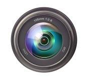 kamery skutka eps10 ilustracyjny obiektywu tęczy wektor Zdjęcia Royalty Free
