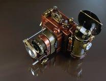 Kamery steampunk. Fotografia Royalty Free