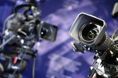 kamery telewizyjne obraz stock