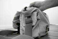Kamery torba E Obrazy Stock