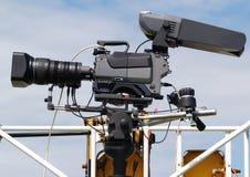 kamery wideo Obrazy Royalty Free