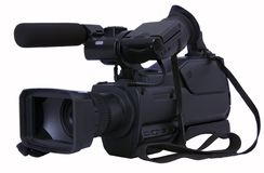 kamery wideo cyfrowy fachowy Obrazy Royalty Free