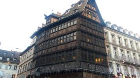 The Kamerzell& x27;s house in Strasbourg Stock Photography