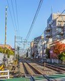 Kami-Igusa Station  in Tokyo Stock Images