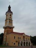 Kamianets-Podilskyi市政厅 乌克兰 免版税库存照片