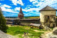 Kamianets Podilskyi Castle 14 στοκ εικόνα
