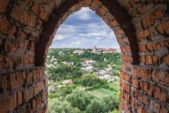 Kamianets Podilskyi Castle Στοκ Φωτογραφίες