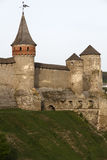 Kamianets-Podilskyi Castle stock photography