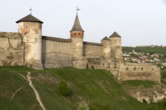 Kamianets-Podilskyi Castle Royalty Free Stock Images