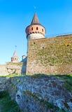 Kamianets-Podilskyi Castle (Ukraine) Stock Image