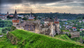 Kamianets-Podilskyi Castle. Ukraine. Stock Photos