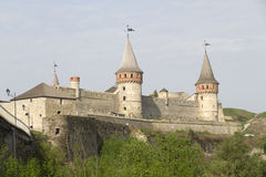 Kamianets-Podilskyi Castle, Ukraine Royalty Free Stock Photography