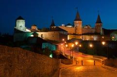 Kamianets-Podilskyi. Khmelnytskyi region Kamenetz-Podolsk fortress Stock Image