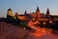Kamianets-Podilskyi. Khmelnytskyi region Kamenetz-Podolsk fortress Royalty Free Stock Photo