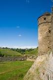 Kamianets-Podilskyi slott, 14th århundrade, Ukraina Arkivbild