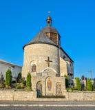 Kamianets-Podilskyi, Ukraine Alte Dreifaltigkeitskirche, Kamianets-Podilskyi, Ukraine Stockbild