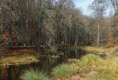 Kamianka river in park Sofiyivka. Uman city, Ukraine Royalty Free Stock Images