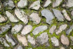 kamień ściana obrazy royalty free