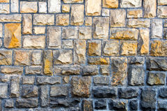 Kamień cladded ściana 9 Obrazy Royalty Free