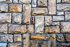 Kamień cladded ściana 4 Zdjęcie Stock