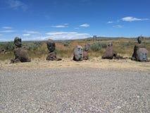Kamień głowy Zdjęcie Stock