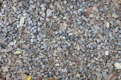 Kamień na kolej pociągu Obraz Royalty Free