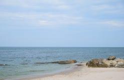 Kamień na plaży 1 Obrazy Stock