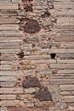 Kamień stara Ściana Meksyk Zdjęcie Stock