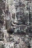Kamień twarze Świątynny Bayon zdjęcie royalty free