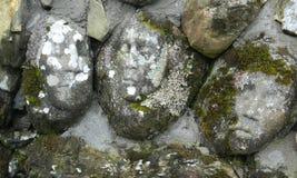 Kamień twarze obrazy royalty free