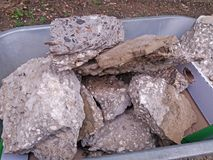Kamień dla budowy Obraz Stock