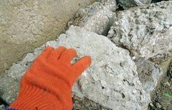 Kamień dla budowy Obraz Royalty Free