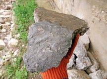 Kamień dla budowy Obrazy Royalty Free