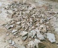 Kamień dla budowy Fotografia Royalty Free