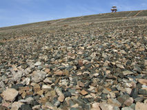 Kamień i niebieskie niebo Zdjęcie Stock